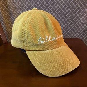 Billabong corduroy ball cap